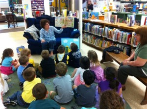 Storytime at Cortland Free Library.