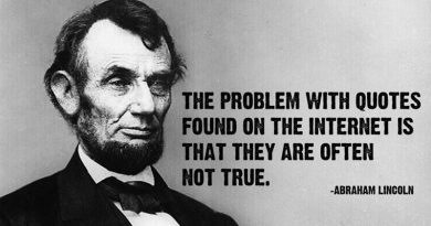 Abraham Lincoln Fake News Quote