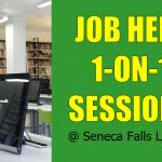 Job Help Sessions at Seneca Falls Library