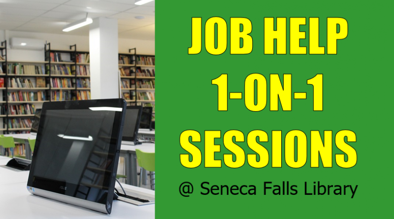 Job Help Sessions at Seneca Falls Library