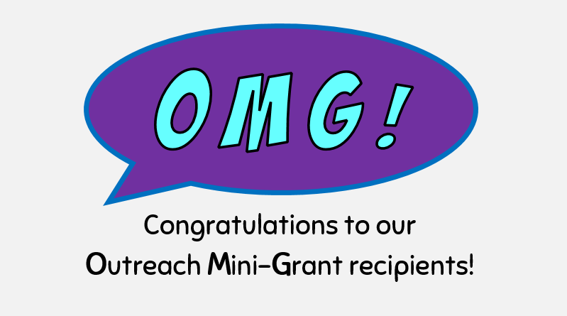 2017-2018 Outreach Mini Grants Awarded