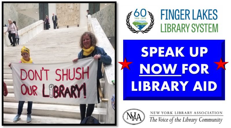 Speak Up for Library Aid NOW
