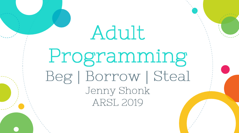 Adult Programming Presentation at ARSL