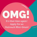 Apply for an Outreach Mini-Grant!