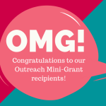 2020-2021 Outreach Mini-Grants Awarded