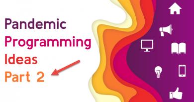 Slide that says Pandemic Programming Ideas Part 2