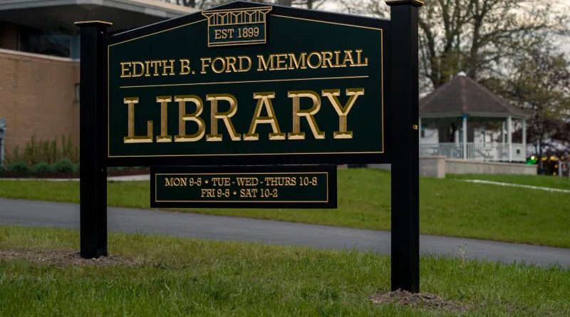Edith B. Ford Memorial Library Director Job Opening