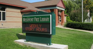 Weedsport Free Library Front