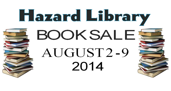 Hazard Library Book Sale