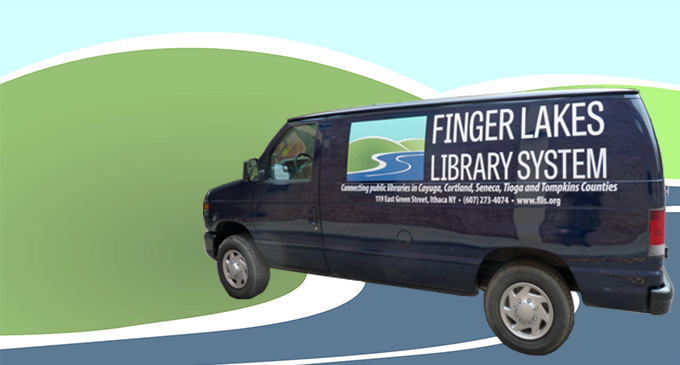 System Van with FLLS Logo