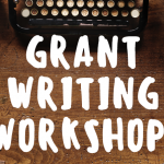 Grant Writing Workshop Follow-up