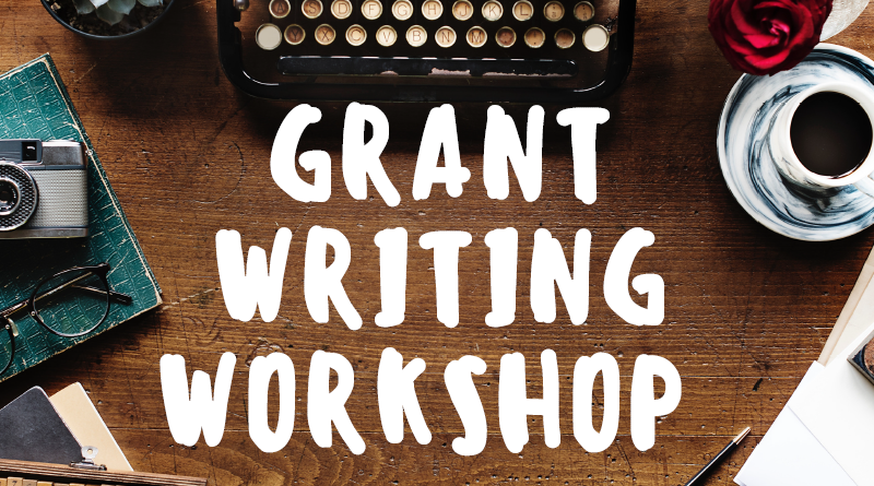 Grant Writing Workshop slide