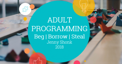 adult programming presentation 2018 with Jenny Shonk