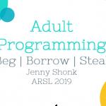 Adult Programming Presentation at ARSL