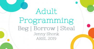 adult programming presentation title slide