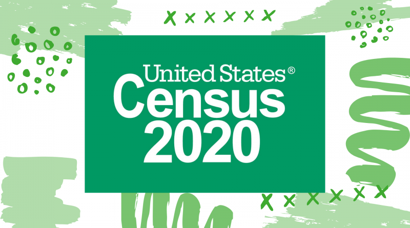 Slide to promote Census 2020