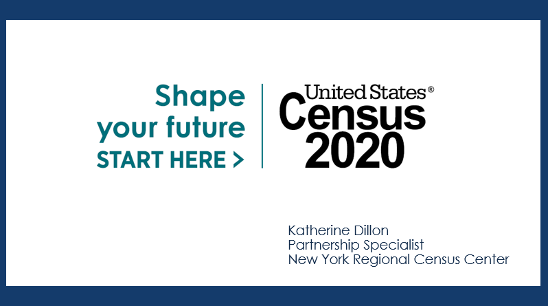 Census 2020 Presentation Follow-Up