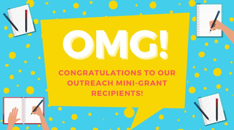 2021-2022 Outreach Mini-Grant Recipients Announced