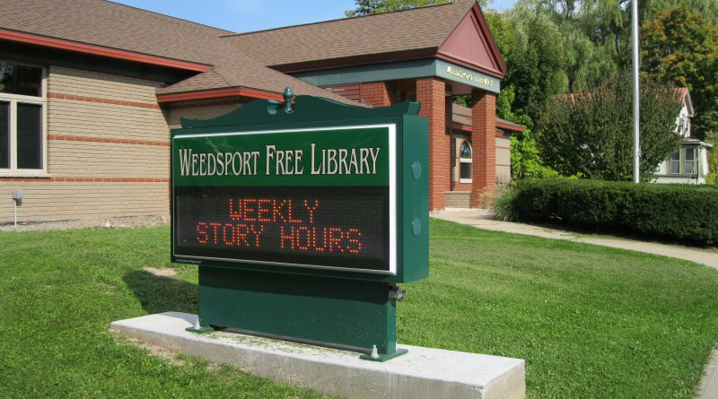 Weedsport Free Library Seeks Library Director